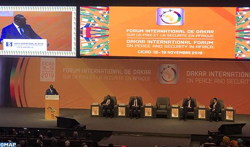 Ouverture à Dakar du Forum International sur la Paix et la Sécurité en Afrique, avec la participation du Maroc