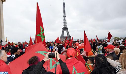 Les Marocains d'Europe dénoncent à Paris la profanation de drapeau