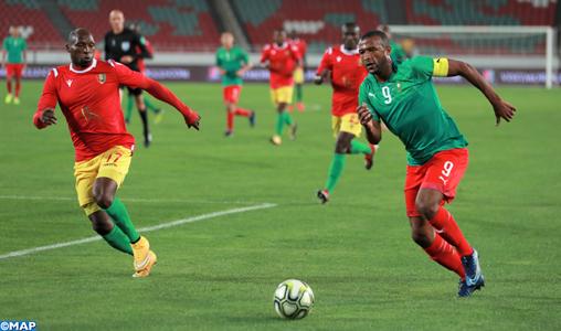 Amical/Foot: La sélection nationale des joueurs locaux s'impose face à la Guinée (3-1)