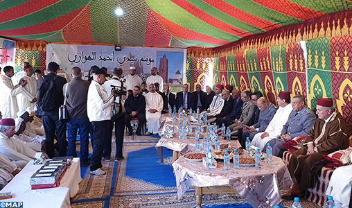 Célébration du Moussem de Sidi Ahmed El Houari à Tinejdad