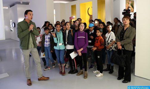 """Académie du Royaume du Maroc : Des établissements scolaires de Salé en visite éducative à l'exposition """"Trésors de l'Islam en Afrique"""""""