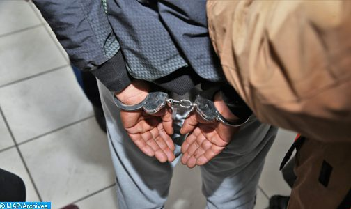Mehdia: Arrestation d'un individu faisant l'objet d'un avis de recherche national