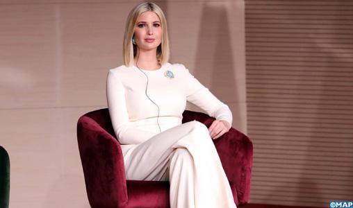 """Mme Ivanka Trump: Les Etats-Unis """"apprécient grandement les relations croissantes et de longue date"""" avec le Maroc"""