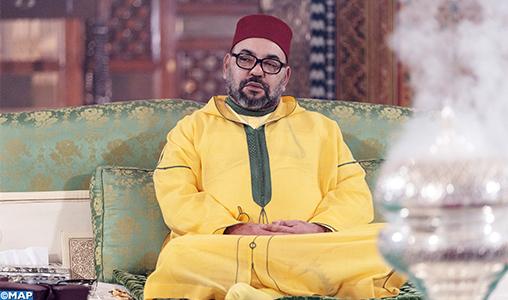 SM le Roi, Amir Al-Mouminine, préside à Marrakech une veillée religieuse en commémoration de l'Aïd Al-Mawlid Annabaoui Acharif