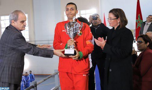 Coupe du Trône de futsal Special Olympics: L'Association Amitié Marocaine des Handicapés de Casablanca remporte le titre