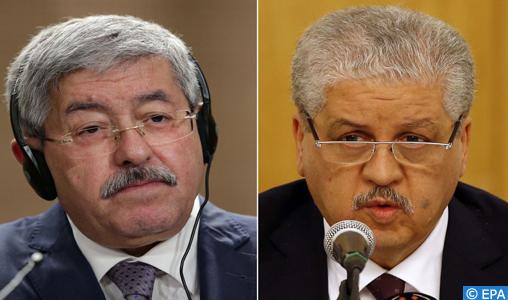 Les anciens PM algériens Ouyahia et Sellal condamnés à 15 et 12 ans de prison