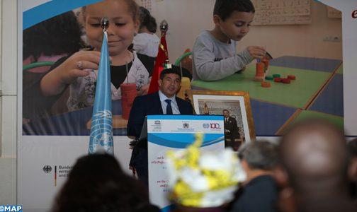 Casablanca: Colloque africain sur la qualité de l'éducation de la petite enfance