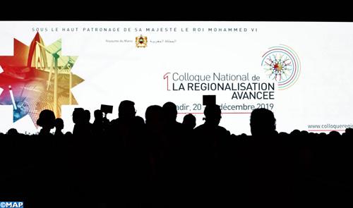 Les compétences des régions et la démocratie participative, pierre angulaire du processus d'aboutissement de la régionalisation avancée