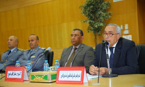 Bouarfa : M. El Ktiri souligne le grand intérêt accordé à l'amélioration des conditions de la famille de la résistance