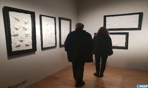 Vernissage d'une exposition collective d'art contemporain marocain à Madrid