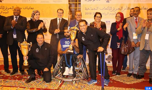 Coupe du Trône des sports collectifs pour personnes handicapées : clôture à Rabat des phases finales