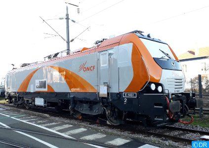"""ONCF: Réception de la 1ère locomotive électrique """"nouvelle génération"""" pour renforcer le parc du matériel ferroviaire"""