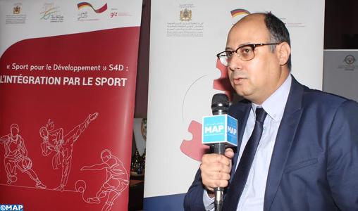Nador : Des ateliers pour la promotion du vivre ensemble et de l'intégration sociale par le sport