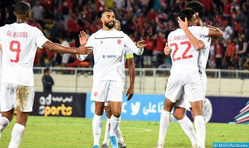 Botola Pro D1/Mise à jour de la 6è journée: Large victoire du Wydad de Casablanca face à l'Olympique de Khouribga (0-4)