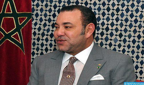 SM le Roi félicite le Président de la République centrafricaine à l'occasion de la fête nationale de son pays