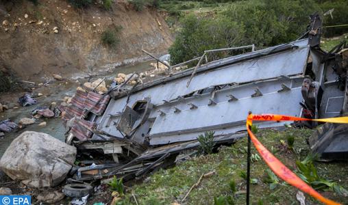 Vingt-six morts dans l'accident d'un bus dans le nord-ouest de la Tunisie