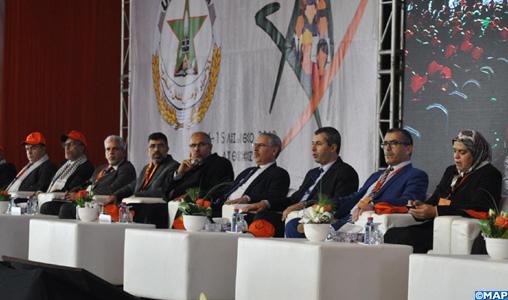 Bouznika: Ouverture du 7ème Congrès national de l'UNTM