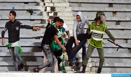 Derby RCA-WAC : Arrestation de plusieurs personnes impliquées dans des actes de hooliganisme (autorités locales)