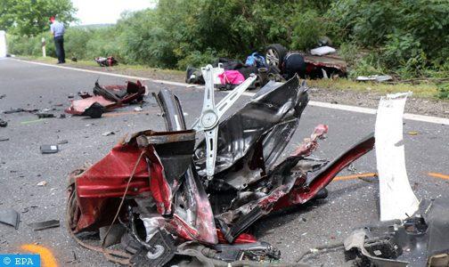 Quatre Marocains morts dans un accident de la route à Madrid
