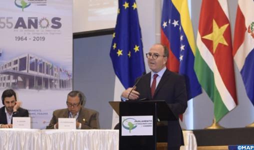 Panama: M. Benchamach souligne la volonté du Maroc de renforcer la coopération avec les Parlements d'Amérique latine et des Caraïbes