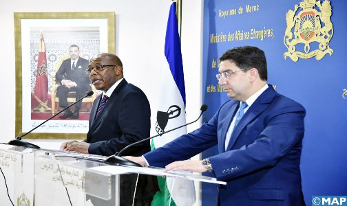 """Le Lesotho """"déterminé"""" à renforcer sa coopération avec le Maroc dans plusieurs domaines (MAE du Lesotho)"""