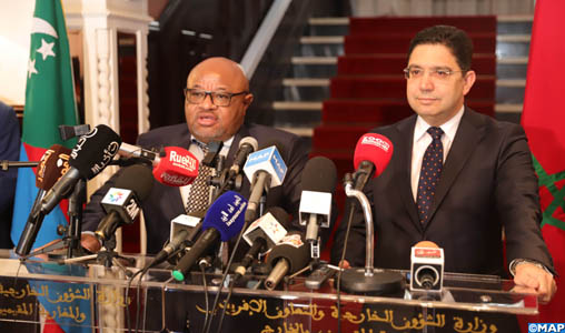 """M. Bourita souligne la dynamique """"positive"""" de la question du Sahara"""