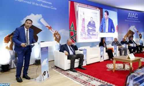 L'Académie internationale Mohammed VI de l'aviation civile fête ses lauréats de l'année 2018-2019