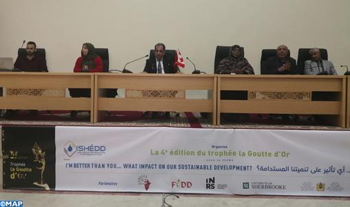 """Dakhla: Lancement de la caravane de formation de la 4e édition du trophée """"Goutte d'Or"""" pour la recherche en développement durable"""