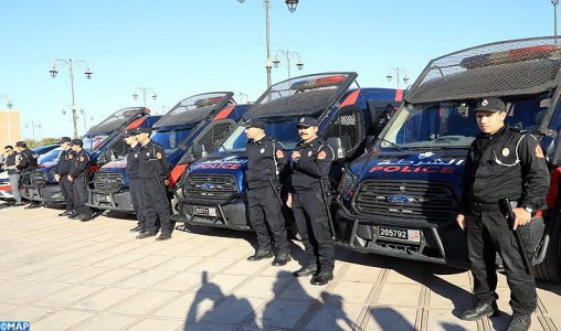 Fêtes du nouvel an : Important dispositif de sécurité déployé à Marrakech