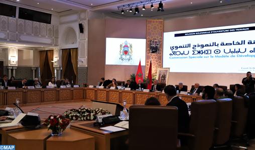 Début des travaux de la Commission Spéciale sur le Modèle de Développement