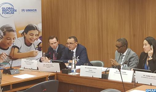 Intégration socio-économique des réfugiés: L'expérience marocaine mise en relief à Genève