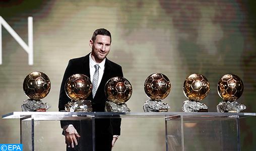 Ballon d'Or: Messi retrouve sa couronne et s'isole un peu plus dans l'histoire