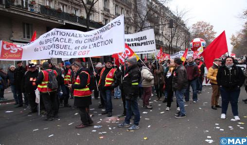 France: Plus de 800 mille personnes manifestent contre la réforme des retraites