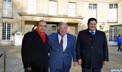 M. Kayouh s'entretient à Paris avec le président du Sénat français