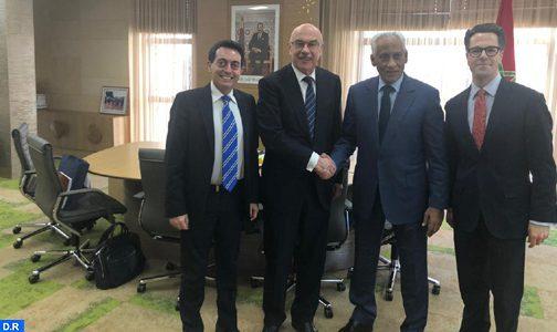 Le délégué général à l'administration pénitentiaire s'entretient avec le Secrétaire général adjoint du Bureau des Nations Unies pour la lutte contre le terrorisme