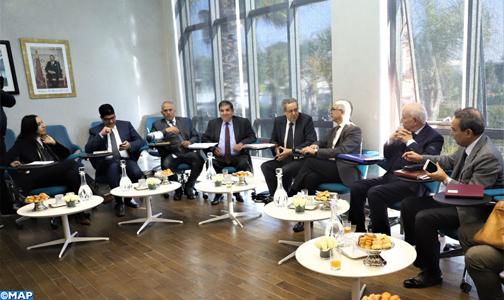 CSMD: séance d'écoute avec les représentants de l'Association des Régions du Maroc