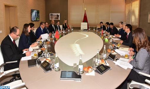 Entretiens maroco-chinois pour renforcer la coopération dans les domaines de l'agriculture et de la pêche maritime