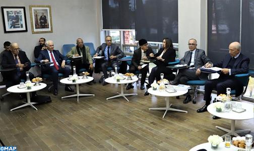 CSMD: Séance d'écoute avec les représentants de la FGD