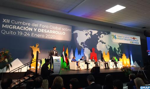 Clôture à Quito des travaux de la 12e édition du GFMD en présence du Maroc
