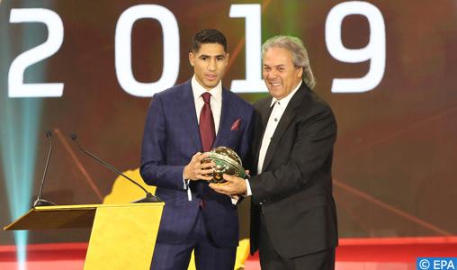 28è édition des CAF Awards: Achraf Hakimi, meilleur jeune joueur africain en 2019