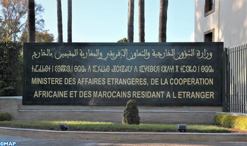 Le Maroc exprime son profond étonnement quant à son exclusion de la conférence prévue le 19 janvier à Berlin au sujet de la Libye