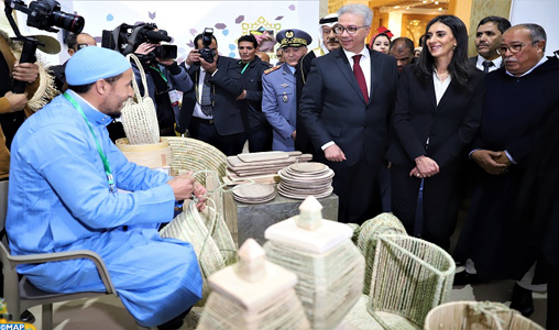 Coup d'envoi à Marrakech de la 6ème semaine nationale de l'artisanat