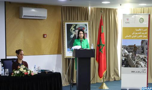 Ouverture à Rabat du séminaire régional arabe de formation des formateurs en droit international humanitaire