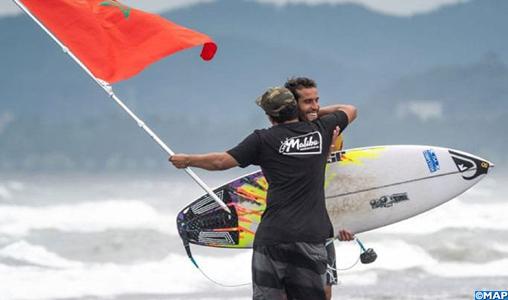 """Ramzi Boukhiam """"fier"""" de représenter le Maroc, le monde arabe et l'Afrique aux JO-Tokyo 2020 dans les compétitions de surf"""