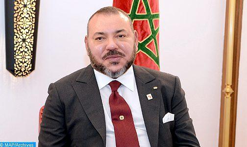 Visite de SM le Roi à Bayt Dakira à Essaouira : SM le Roi offre un dîner en l'honneur des membres de la communauté juive marocaine et des personnalités invitées