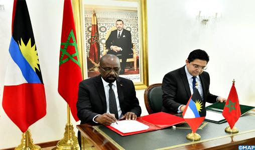 Six points importants du communiqué conjoint Maroc-Antigua-et-Barbuda