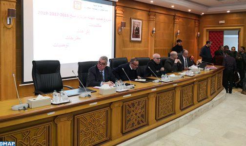 Le Conseil communal de Tanger émet son avis relatif au projet du plan d'aménagement de la ville