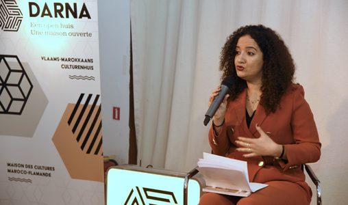 """L'universitaire Yousra Abourabi présente à Bruxelles son ouvrage """"Maroc"""""""