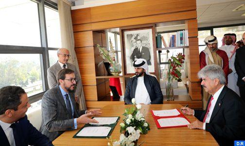 Signature à Rabat d'un mémorandum d'entente entre la Fondation Mohammed VI de Promotion des Œuvres sociales de l'éducation-formation et la Royal Charity Organisation du Bahreïn