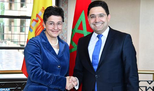 La ministre espagnole des Affaires étrangères réitère la position claire, précise et ferme de son pays concernant le Sahara marocain